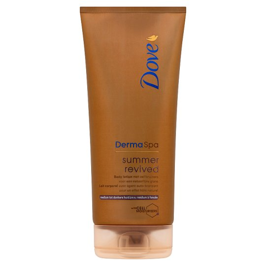 Dove Derma Spa summer revived Self-Tanning Body Lotion for Normal-Dark Skin 200 ml