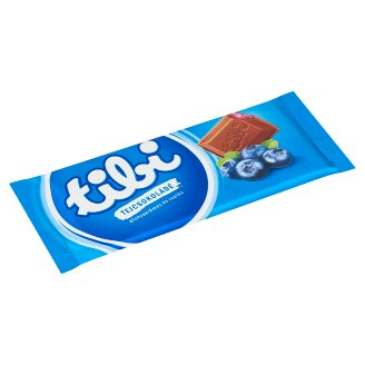 Tibi Milk Chocolate with Blueberry Cream and Jelly 90 g
