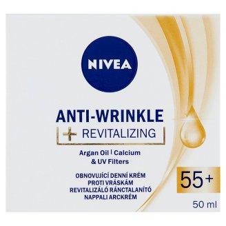 NIVEA revitalizáló ránctalanító nappali arckrém 55+ 50 ml