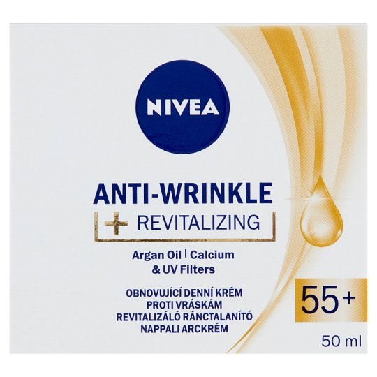 NIVEA Revitalizing Anti-Wrinkle Day Face Cream 55+ 50 ml