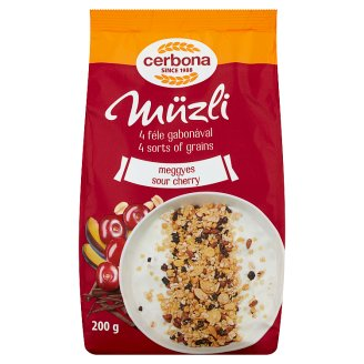 image 1 of Cerbona Muesli with Sour Cherry 200 g
