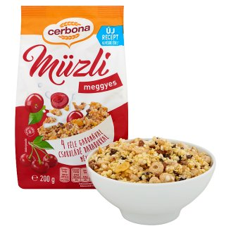 image 2 of Cerbona Muesli with Sour Cherry 200 g