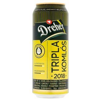 Dreher Tripla Komlós világos sör 4,5% 0,5 l