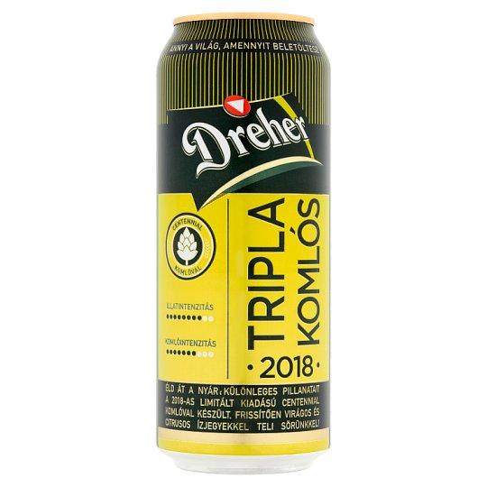 Dreher Tripla Komlós Lager Beer 4,5% 0,5 l