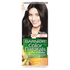 image 1 of Garnier Color Naturals Crème 3 Dark Brown Nourishing Permanent Hair Colorant