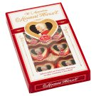 Reber Mozart Herz'l Praline in Dark Chocolate with Pistachio-Marzipan and Truffle Filling 80 g
