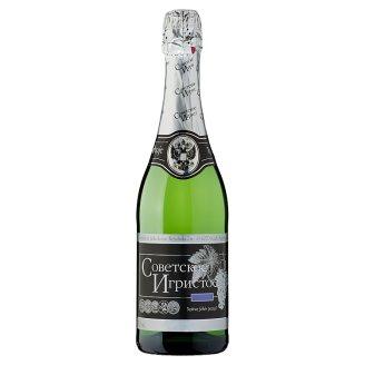 Szovjetszkoje Igrisztoje száraz fehér pezsgő 11% 750 ml
