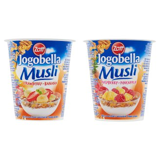 Zott Jogobella Musli Yoghurt with Live Cultures and Muesli 150 g