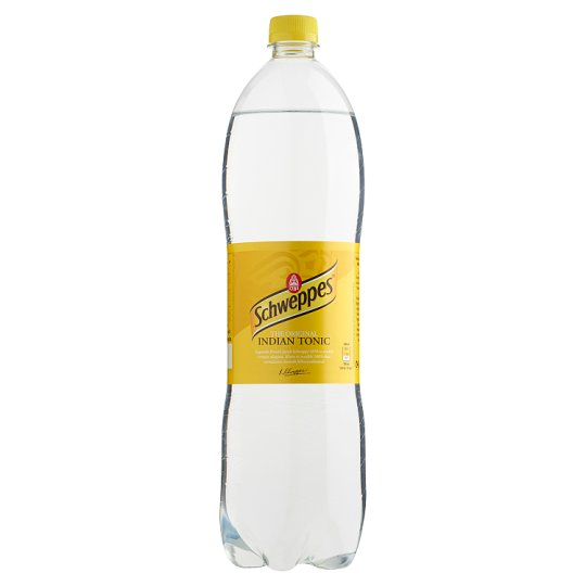 Schweppes Indian Tonic Carbonated Soft Drink 1,5 l