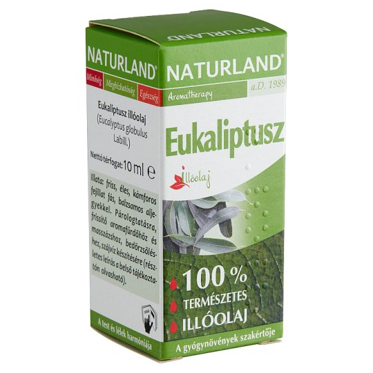Naturland Aromatherapy Eucalyptus Essential Oil 10 ml
