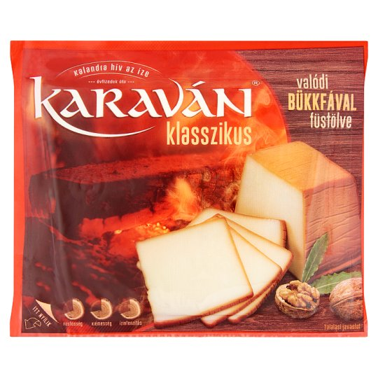 Karaván Klasszikus füstölt, zsíros sajt 200 g
