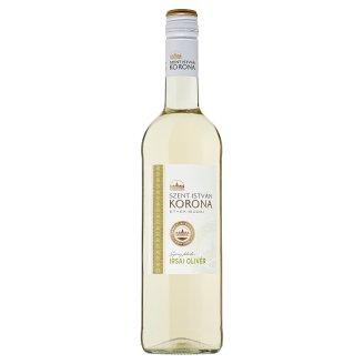 Szent István Korona Etyek-Budai Irsai Olivér száraz fehérbor 10,5% 0,75 l