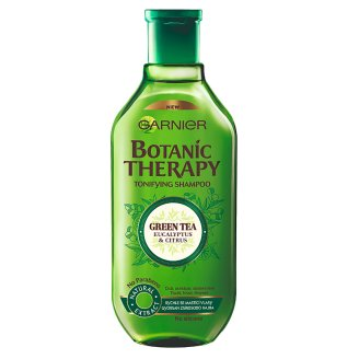 Garnier Botanic Therapy Green Tea, Eucalyptus & Citrus Shampoo for Oil-Prone Hair 400 ml