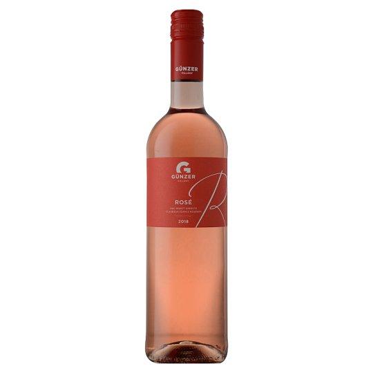 Günzer Rosé száraz rosébor 13% 0,75 l