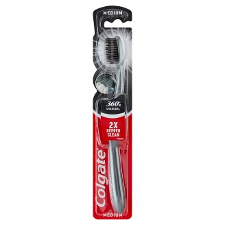 Colgate 360° Black Medium Toothbrush