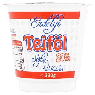 Erdélyi tejföl 20% 330 g