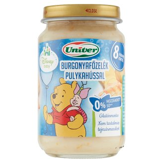Univer Potato Stew with Turkey Food for Babies 8+ Months 163 g