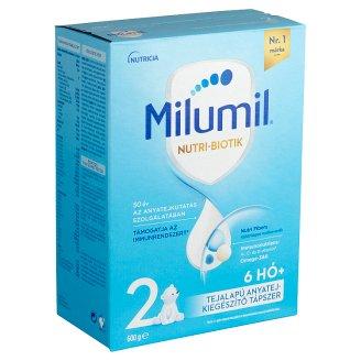 Milumil 2 anyatej-kiegészítő tápszer 6 hó+ 600 g