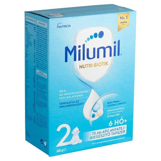 Milumil 2 anyatej-kiegészítő tápszer 6-9 hó 600 g