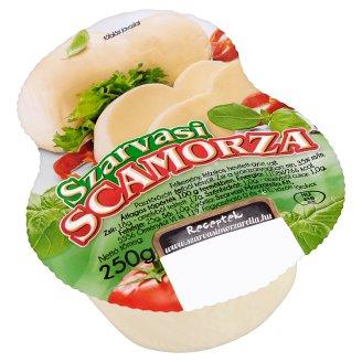 Szarvasi Scamorza Medium-Hard Semi-Fat Cheese 250 g