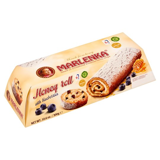 Marlenka Honey Roll with Blueberries 300 g