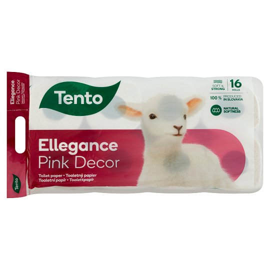 Tento Ellegance Cherry Blossom toalettpapír 3 rétegű 16 tekercs