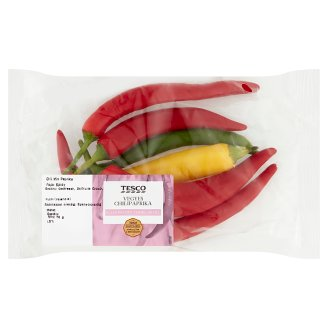 Tesco Mixed Chillies 50 g
