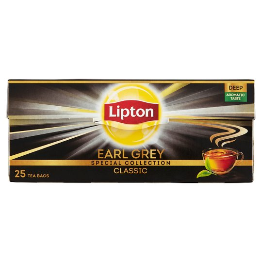 Lipton Earl Grey Classic Black Tea 25 Tea Bags