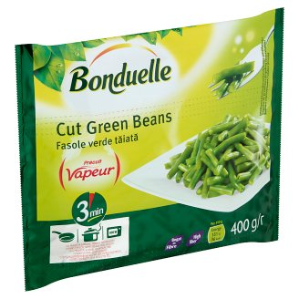 Bonduelle Vapeur Quick-Frozen Green Beans Cut 400 g