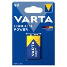 Varta Longlife Power 9 V Alkaline E-Block Batteries