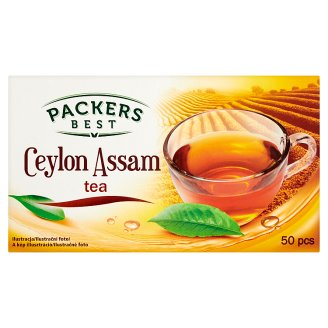 Packers Best Filtered Ceylon Assam Tea 50 Tea Bags 87,5 g
