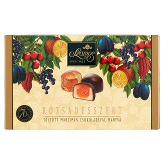 Szamos Rózsadesszert töltött marcipán csokoládé bevonattal 8 db 140 g