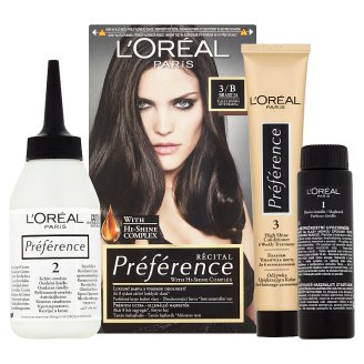 image 2 of L'Oréal Paris Préférence 3/B Brasilia Dark Brown Premium Ultra-Resistant Colorant