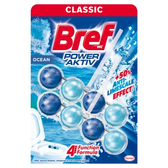 Bref Power Aktiv Ocean Breeze Toilet Block 2 x 50 g