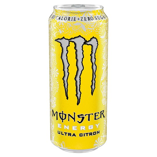 Monster Energy Ultra Citron Carbonated Drink with Sweeteners 500 ml