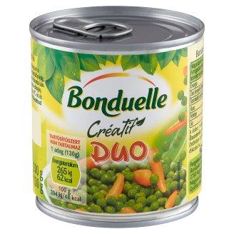 Bonduelle Créatif Duo zöldborsó-bébirépa keverék 200 g
