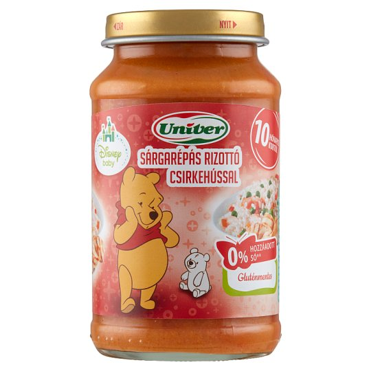 Univer Carrot Risotto with Chicken Food for Babies 10+ Months 220 g