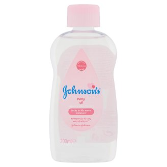 Johnson's Baby olaj 200 ml