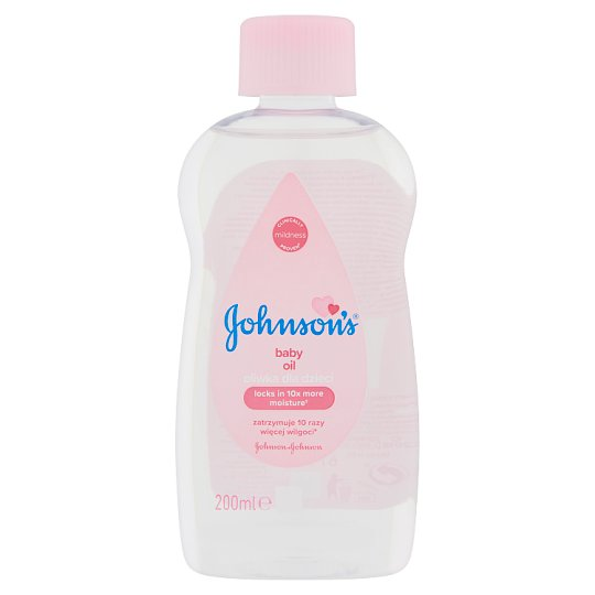 JOHNSON'S® Baby Oil 200 ml