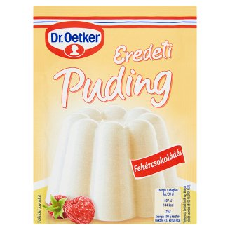 Dr. Oetker Eredeti Puding White Chocolate Flavoured Pudding Powder 46 g