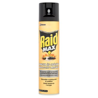 Raid Max 3 in 1 Cockroach and Ant Killer Aerosol 400 ml