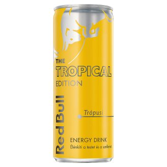 Red Bull The Tropical Edition Tropical Energy Drink with Caffeine and Arginine 250 ml