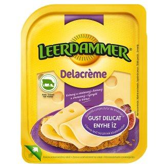 Leerdammer Delacrème Fat Semi-Hard, Sliced Cheese 125 g