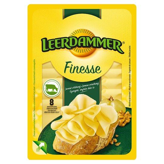 Leerdammer Finesse Original Lactose-Free, Semi-Hard Fat Cheese 8 Slices 80 g