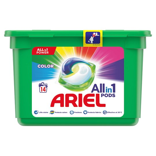 Ariel 3in1 Pods Color Washing Capsules 14 Washes