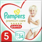 Pampers Premium Care, 5-as, 34 db Bugyipelenka