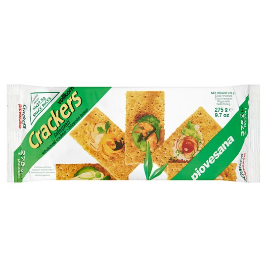 piovesana Wholemeal Cracker 10 x 27,5 g