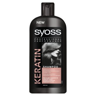 Syoss Keratin Hair Perfection sampon száraz, erőtlen hajra 500 ml