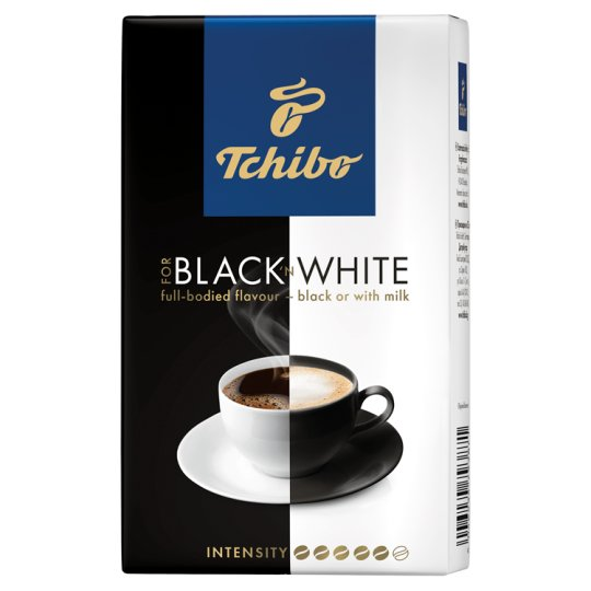 Tchibo For Black 'N White Ground Roasted Coffee 250 g