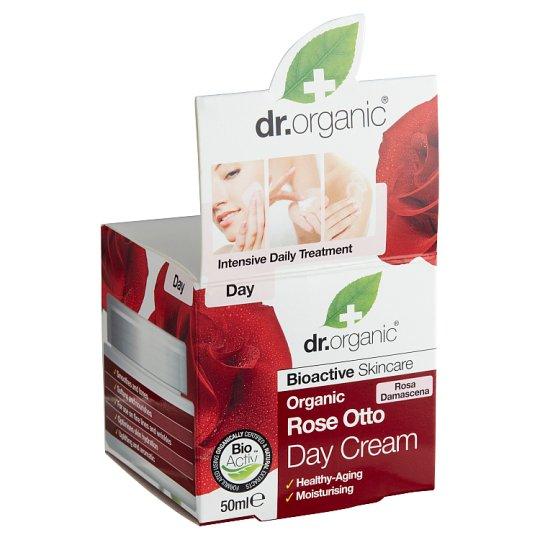Dr. Organic Bioactive Skincare nappali arckrém bioaktív damaszkuszi rózsaolajjal 50 ml
